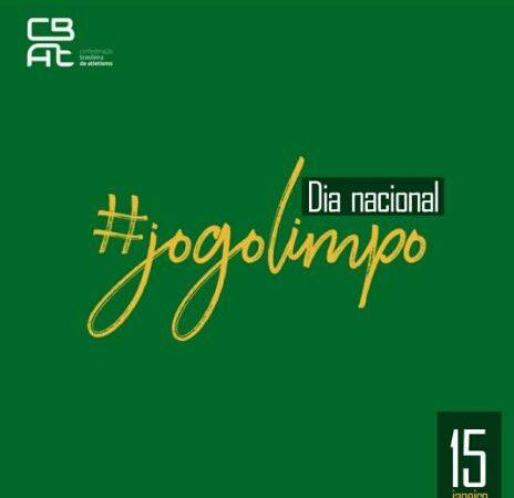 Dia Nacional do Jogo Limpo e de Combate ao Doping no Esporte