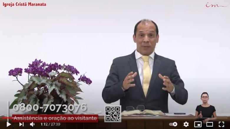 """Igreja Cristã Maranata - """"Culto da família"""" - 12/02/2021 Sexta"""