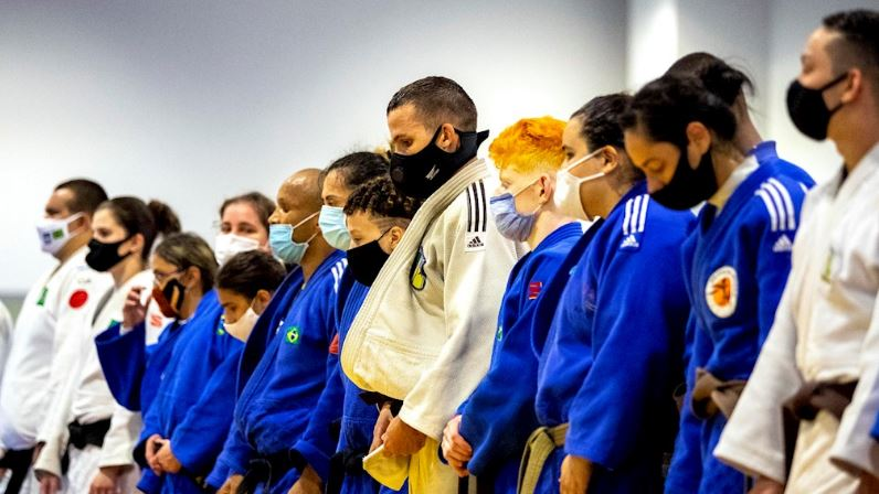 De volta ao CT Paralímpico a Seleção Brasileira de judô com foco na readaptação técnica