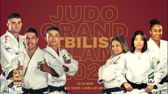 A partir de sexta-feira, Judocas brasileiros disputam Grand Slam de Tbilisi, na Geórgia