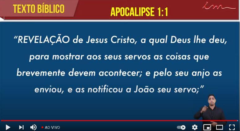 """Igreja Cristã Maranata – """"Eis que venho sem demora"""" – 09/05/2021 Domingo"""