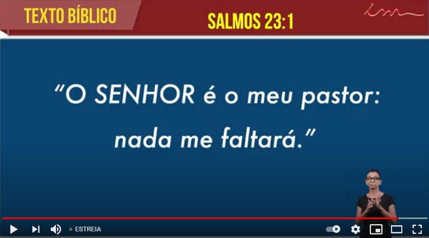 "Igreja Cristã Maranata - ""SALMOS 23"" - 17/05/2021 Segunda"