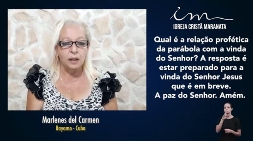 Igreja Cristã Maranata - Igrejas do Exterior - 23/05/2021 Domingo