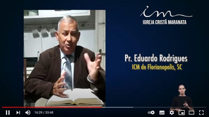 Igreja Cristã Maranata – Igrejas do Brasil – 23/05/2021 Domingo