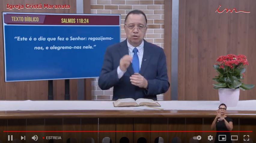 """Igreja Cristã Maranata - """"Esse é o dia do Senhor"""" - 24/05/2021 Segunda"""