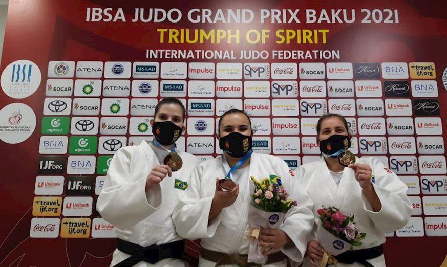 Mulheres brilham e Brasil conquista mais 2 ouros e 1 bronze no Azerbaijão