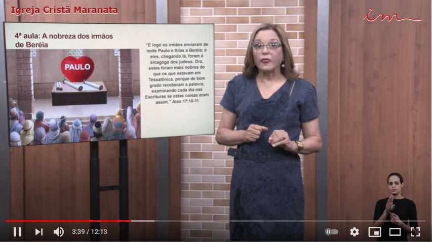 """Igreja Cristã Maranata – Crianças de 3 a 7 anos - """"A nobreza dos irmãos de Beréia"""" -  27/05/2021 Quinta"""
