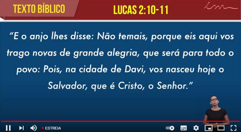 """Igreja Cristã Maranata - """" Não temais"""" -  07/06/2021  Segunda"""