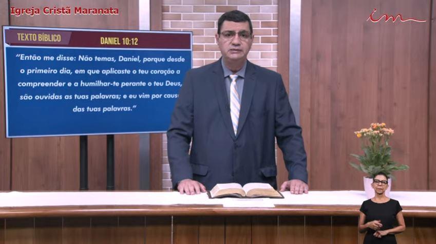 """Igreja Cristã Maranata - """"A oração ouvida"""" - 12/06/2021 Sábado"""