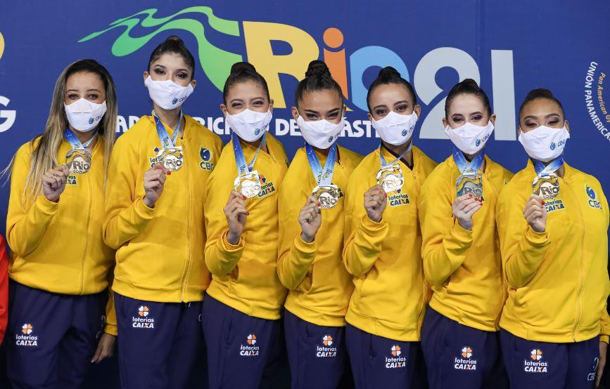 Seleção Brasileira de Conjunto conquista a Vaga Olímpica
