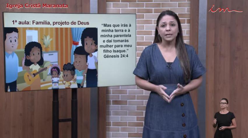 """Igreja Cristã Maranata - Crianças de 3 a 7 anos -""""Família, projeto de Deus"""" – 03/06/2021 Quinta"""