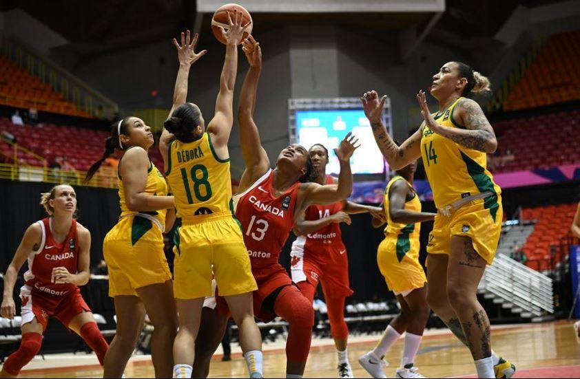 Canadá supera o Brasil na Americup  por apenas quatro pontos