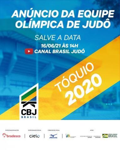 Equipe Olímpica do Judô será anunciada nesta quarta-feira, 16, ao vivo no Canal Brasil Judô