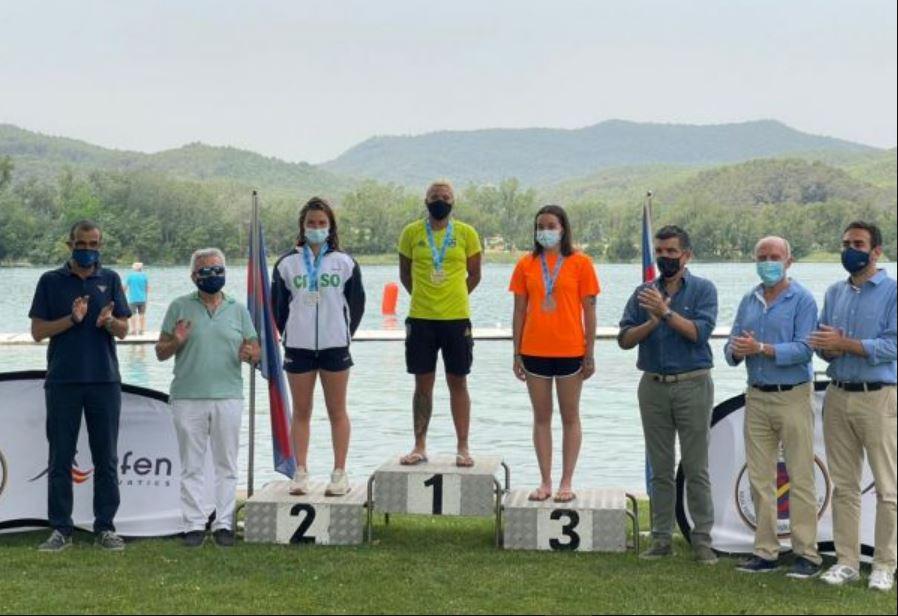 Ana Marcela É OURO nos 5 km do Campeonato Espanhol de Águas Abertas