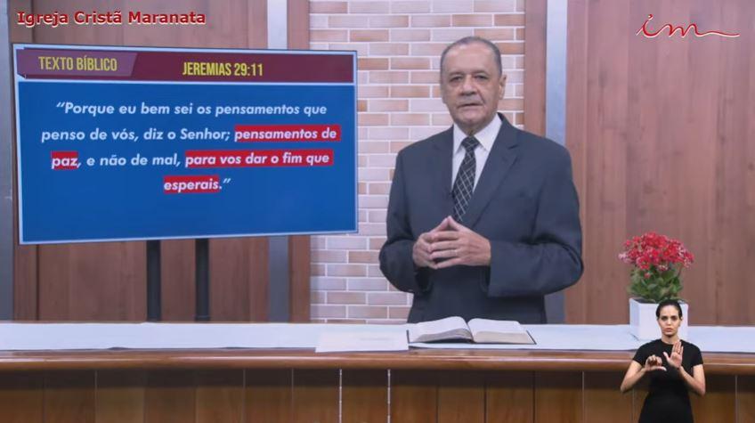 """Igreja Cristã Maranata - """"Buscando e servindo ao Senhor"""" - 24/06/2021 Quinta"""