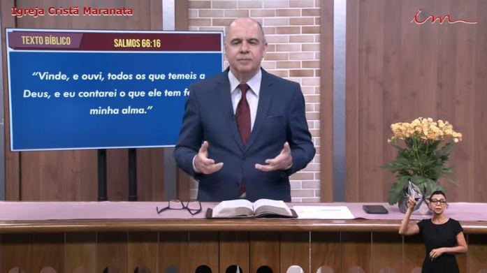 """Igreja Cristã Maranata - """"Vinde e ouvi"""" - Segunda - 28/06/2021"""