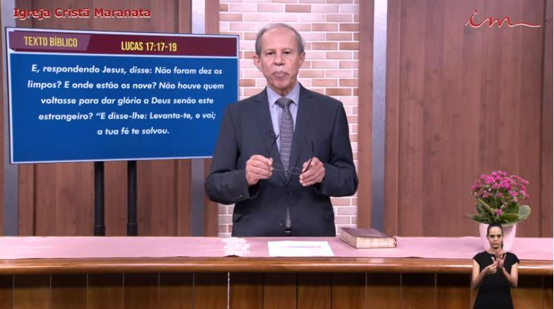 """Igreja Cristã Maranata - """"A cura dos 10 leprosos"""" - 03/07/2021 Sábado"""