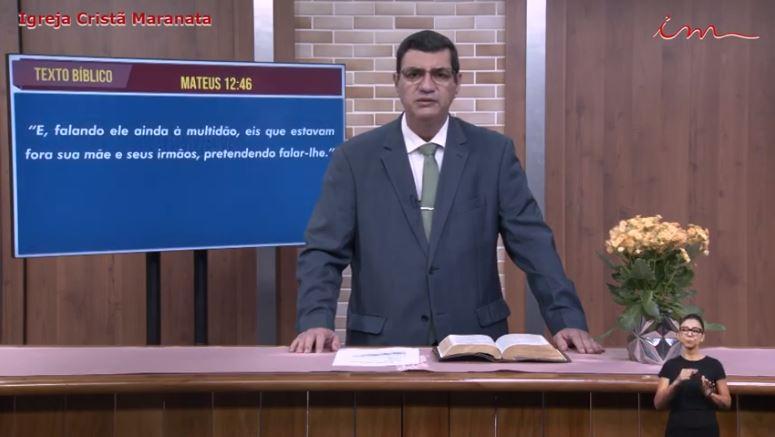 Igreja Cristã Maranata – Culto exibido na TV aberta no dia 29/05/21 Sábado