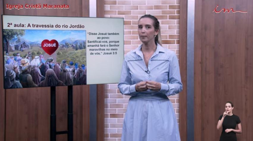 """Igreja Cristã Maranata – Intermediários de 07 a 11 anos – """"A travessia do rio Jordão"""" – 08/07/2021 Quinta"""