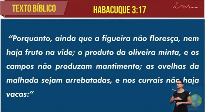 """Igreja Cristã Maranata -  """"Oração de Habacuque"""" - 08/07/2021 Quinta"""