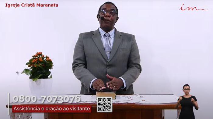 """Igreja Cristã Maranata - """"Culto da Família"""" - 09/07/2021 Sexta"""