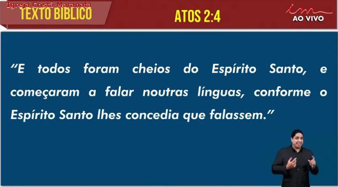 """Igreja Cristã Maranata – """"7 cartas: Histórico, Profético e Heranças"""" – 11/07/2021 Domingo"""