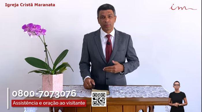 """Igreja Cristã Maranata - """"Culto da Família"""" - 02/07/2021 Sexta"""