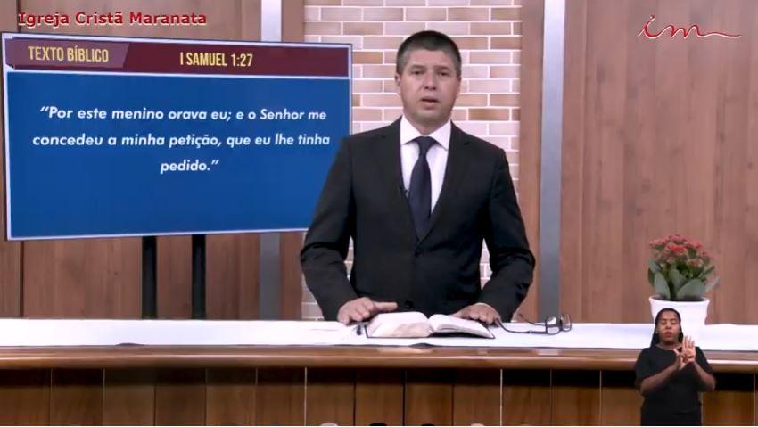"""Igreja Cristã Maranata - """"A oração de Ana"""" - 15/07/2021 Quinta"""