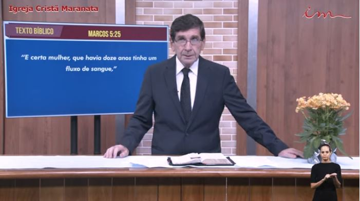 Igreja Cristã Maranata - Culto exibido na TV aberta no dia 26/05/21 Quarta