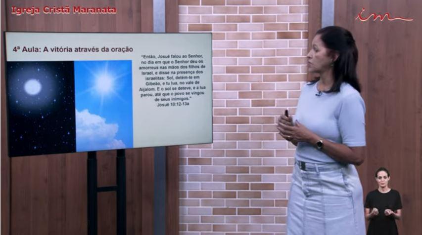 """Igreja Cristã Maranata – Intermediários de 07 a 11 anos – """"A vitória através da oração"""" – 22/07/2021 Quinta"""