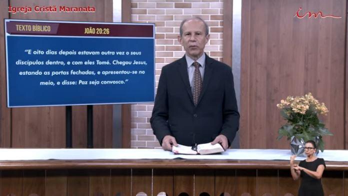 Igreja Cristã Maranata - Culto exibido na TV aberta no dia 27/05/21 Quinta