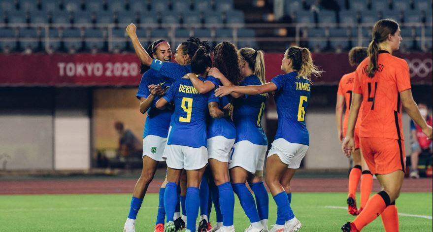 Em jogo de seis gols, Brasil e Holanda empatam em jogo com seis gols
