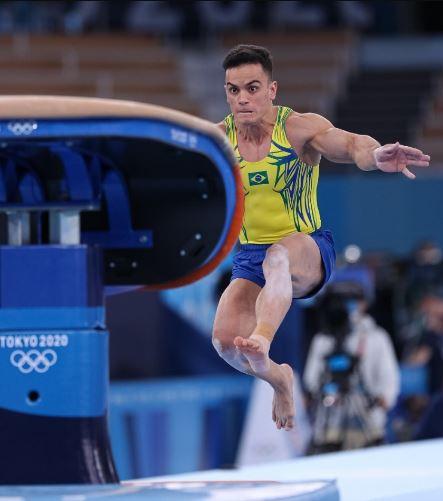 Primeiro dia da Ginástica dos Jogos Olímpicos o Brasil alcança quatro finais