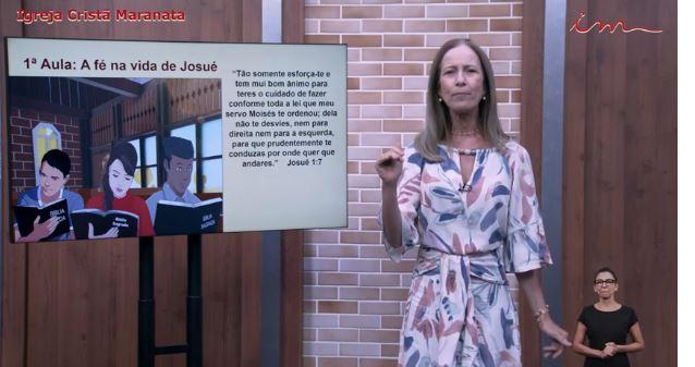 """Igreja Cristã Maranata – Adolescentes de 11 a 15 anos – """" A fé na vida de Josué"""" – 01/07/2021 Quinta"""