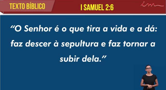 "Igreja Cristã Maranata - ""O Pedido de Ana"" - 26/07/2021 Segunda"