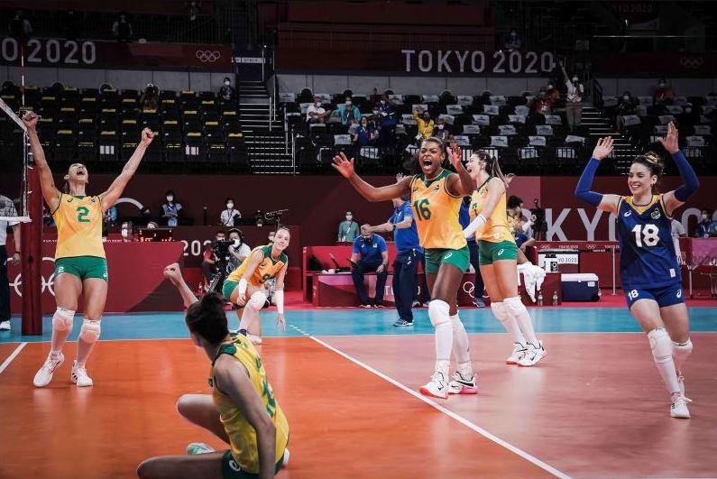 Seleção feminina vence República Dominicana e consegue segunda vitória nos Jogos Olímpicos de Tóquio