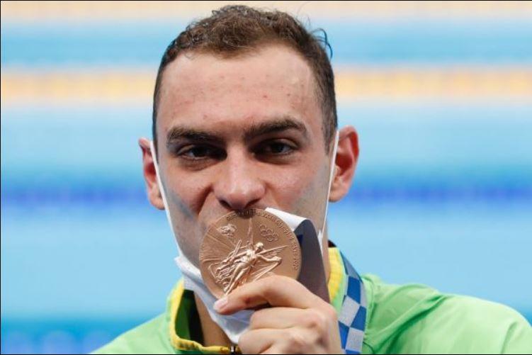 Fernando Scheffer conquista a medalha de Bronze nos Jogos Olímpicos de Tóquio