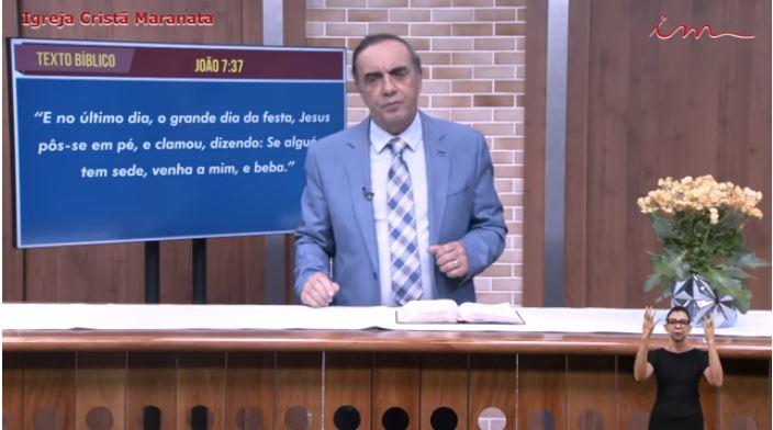 Igreja Cristã Maranata - Culto exibido na TV aberta no dia 31/05/21- Segunda