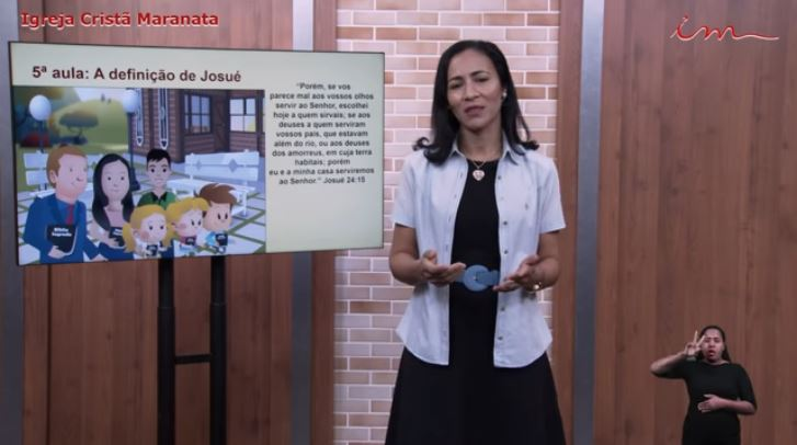 """Igreja Cristã Maranata – Adolescentes de 11 a 15 anos – """"A definição de Josué"""" – 29/07/2021 Quinta"""