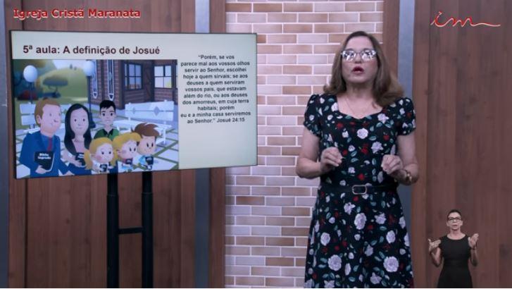 """Igreja Cristã Maranata – Crianças de 03 a 07 anos –  """"A definição de Josué"""" – 29/07/2021 Quinta"""