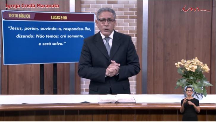 Igreja Cristã Maranata - Culto exibido na TV aberta no dia 03/06/21 Quinta
