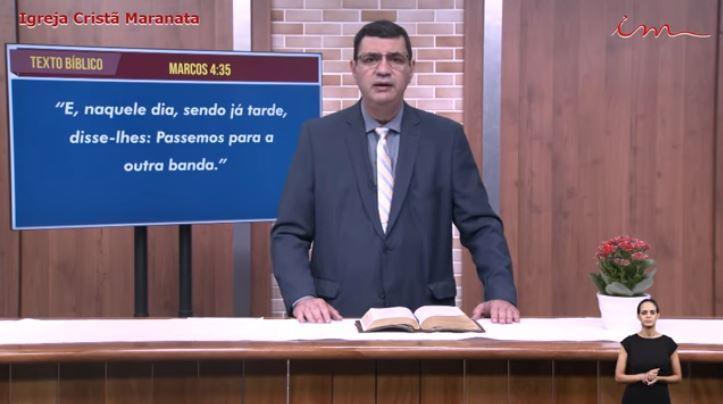 Igreja Cristã Maranata - Culto exibido na TV aberta -  Pr. Julio Cezar - 30/07/2021 Sexta