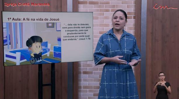 """Igreja Cristã Maranata – Crianças de 3 a 7 anos – """" A fé na vida de Josué"""" – 01/07/2021 Quinta"""