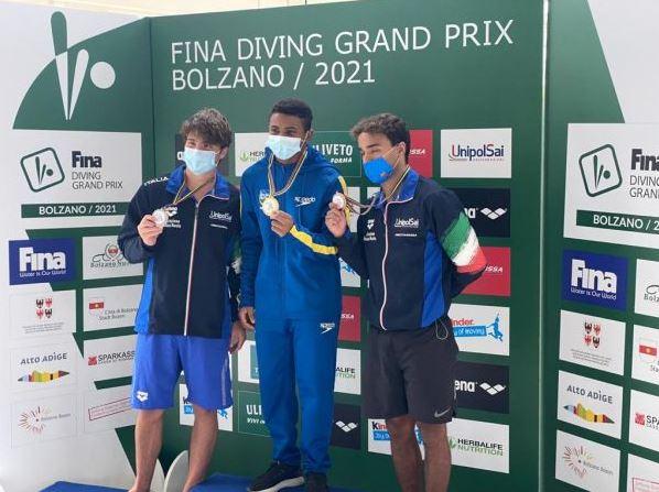 É CAMPEÂO!!! É CAMPEÂO!!! Isaac Souza conquista a medalha de ouro no Grand Prix de Bolzano