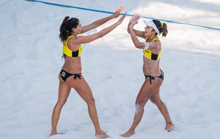 Bárbara Seixas e Carol Solberg garantem vaga na chave principal na Suíça