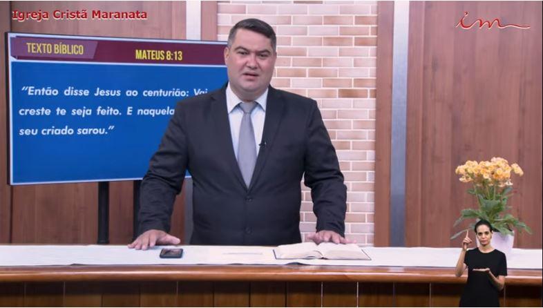 "Igreja Cristã Maranata - ""A fé na vida do servo"" - 07/07/2021 Quarta"