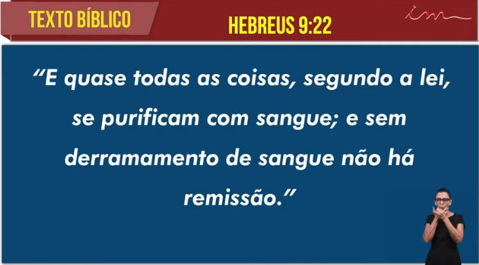 """Igreja Cristã Maranata -  """"A remissão dos nossos pecados"""" - 30/06/2021 Quarta"""