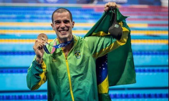 Bruno Fratus conquista a Medalha de Bronze nos Jogos Olímpicos de Tóquio