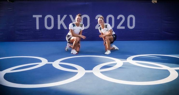 Luisa Stefani e Laura Pigossi conquistam o Bronze nos Jogos Olímpicos de Tóquio