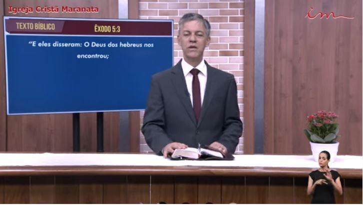 Igreja Cristã Maranata – Culto exibido na TV aberta – Pr Alexandre Brasil – 02/08/2021 Segunda